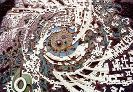 Galaxy plan of Auroville